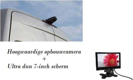 achteruitrijcamera set