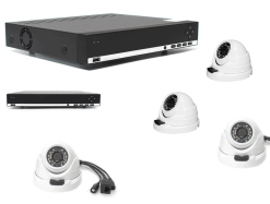 Complete beveiligingscamera Set