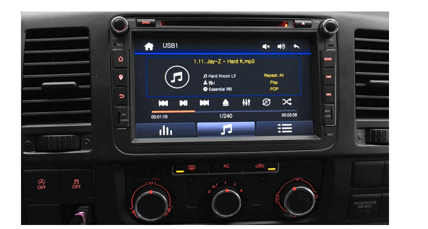 rns 510 look 8 dab navigatie autoradio audiovolt. Black Bedroom Furniture Sets. Home Design Ideas