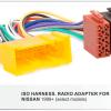 autoradio aansluitkabel / iso kabel voor NISSAN 1999+