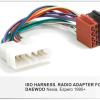 autoradio aansluitkabel / iso kabel voor DAEWOO Nexia