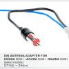 Antenne verloop / kabel- HONDA 2005+    / ACURA 2005+    / MAZDA 2009+    / SUZUKI 2011+                                                                                                                                 GT13(female) -> DIN(male)