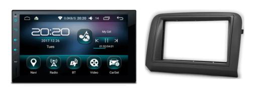 FIAT Croma Android autoradio met navigatie