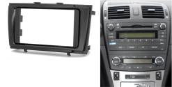 2-din inbouwframe / paneel TOYOTA Avensis (T270) 2009-2015 ((Black)