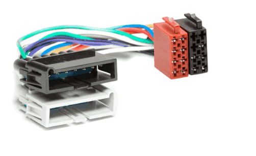 autoradio aansluitkabel / iso kabel voor CHRYSLER 1979-2001  / DODGE 1978-2001  / JEEP 1984-2001