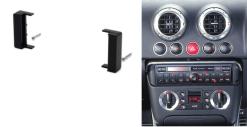 1-din inbouwframe / paneel AUDI TT (8N) 1998-2006