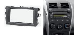 2-din inbouwframe / paneel TOYOTA Corolla 2007-2013 (Black)