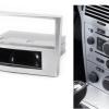 1-din inbouwframe / paneel OPEL Astra (H) 2004-2010; Antara
