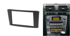 2-din inbouwframe / paneel TOYOTA Avensis 2002-2008 (Black)