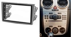 2-din inbouwframe / paneel incl montage materiaal OPEL Astra (H) 2004-2010; Antara
