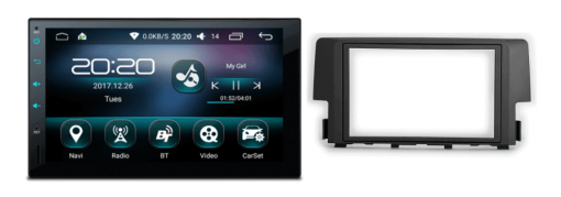 HONDA Civic Android autoradio met navigatie