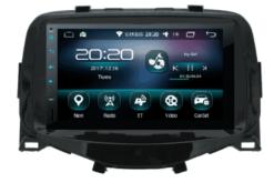 CITROEN C1 / TOYOTA Aygo / PEUGEOT (108) Android autoradio met navigatie