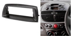 1-din inbouwframe / paneel FIATPunto (188) 1999-2010