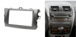 2-din inbouwframe / paneel TOYOTA Corolla 2007-2013 (Dark Grey)