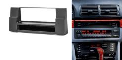 1-din inbouwframe / paneel BMW 5-Series (E39) 1995-2003; X5 (E53) 1999-2006 w/pocket