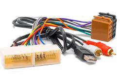 autoradio aansluitkabel / iso kabel voor HYUNDAI 2009+  / KIA 2010+   (met AUX+USB)