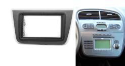 2-din inbouwframe / paneel + beugels SEAT Altea 2004-2015