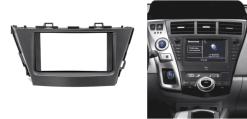 2-din inbouwframe / paneel TOYOTA Prius 2013+ (Left Wheel)