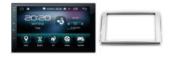Hyundai Santa Fe Android autoradio met navigatie