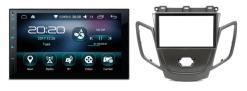 FORD Fiesta (zwart zonder display) Android autoradio met navigatie