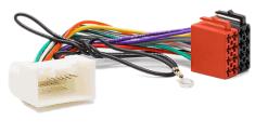autoradio aansluitkabel / iso kabel voor MITSUBISHI 2007+  / alleen geaccepteerd  voor nieuwe 20-pin plug / zonder navigatie / niet voor Rockvoord Fosgate amplifier)