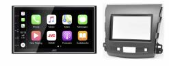 Navigatie DAB+ autoradio met Carplay en Android auto JVCKenwood voor Mitsubishi Outlander XL