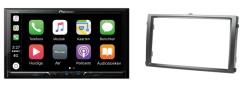 Carplay & Android incl DAB+ Pioneer autoradio navigatie SSANG YONG Rexton