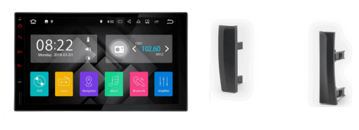 TOYOTA Prius autoradio met navigatie Android 7.1