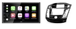 Navigatie DAB+ autoradio met Carplay en Android auto JVCKenwood voor FORD Focus