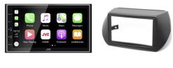 Navigatie DAB+ autoradio met Carplay en Android auto JVCKenwood voor FIAT Fiorino