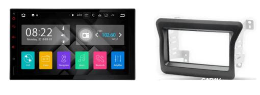 Renault Master autoradio met navigatie Android 7.1