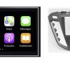 Navigatie DAB+ autoradio met Carplay en Android auto JVCKenwood voor FORD Transit Custom