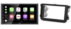 Navigatie DAB+ autoradio met Carplay en Android auto JVCKenwood voor Skoda Fabia