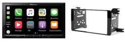 Carplay & Android incl DAB+ Pioneer autoradio navigatie Peugeot 4007