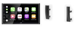 Navigatie DAB+ autoradio met Carplay en Android auto JVCKenwood voor TOYOTA Prius
