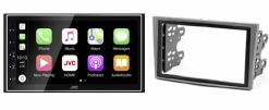 Navigatie DAB+ autoradio met Carplay en Android auto JVCKenwood voor Opel Asta H