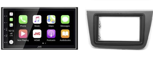 Navigatie DAB+ autoradio met Carplay en Android auto JVCKenwood voor Seat Altea