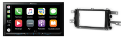 Carplay & Android incl DAB+ Pioneer autoradio navigatie Toyota Auris