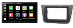 Carplay & Android incl DAB+ Pioneer autoradio navigatie Seat Altea