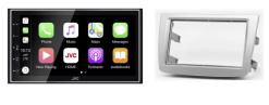 Navigatie DAB+ autoradio met Carplay en Android auto JVCKenwood voor ALFA ROMEO MiTo (955)