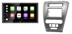Navigatie DAB+ autoradio met Carplay en Android auto JVCKenwood voor FORD Fusion