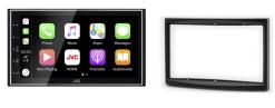 Navigatie DAB+ autoradio met Carplay en Android auto JVCKenwood voor Fiat Scudo