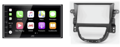 Navigatie DAB+ autoradio met Carplay en Android auto JVCKenwood voor OPEL Mokka