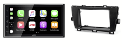 Navigatie DAB+ autoradio met Carplay en Android auto JVCKenwood voor Toyota Prius (ZVW30/35)