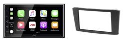 Navigatie DAB+ autoradio met Carplay en Android auto JVCKenwood voor Toyota Avensis