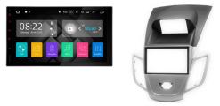 FORD Fiesta 2008-2017 (zilver met display) autoradio met navigatie Android 7.1