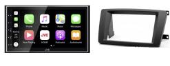 Navigatie DAB+ autoradio met Carplay en Android auto JVCKenwood voor Skoda Octavia