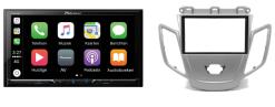 Carplay & Android incl DAB+ Pioneer autoradio navigatie FORD Fiesta 2008-2017 (zilver zonder display)