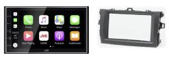 Navigatie DAB+ autoradio met Carplay en Android auto JVCKenwood voor TOYOTA Corolla