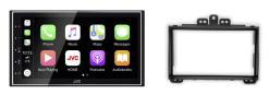 Navigatie DAB+ autoradio met Carplay en Android auto JVCKenwood voor HYUNDAI i-20